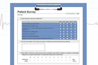 Patient Survey Example
